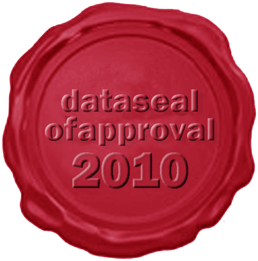 The HZSK received the Data Seal of Approval 2010